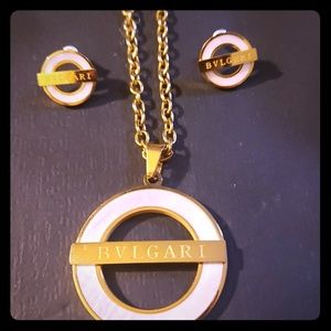 BVLGARI New Set of necklace and earrings